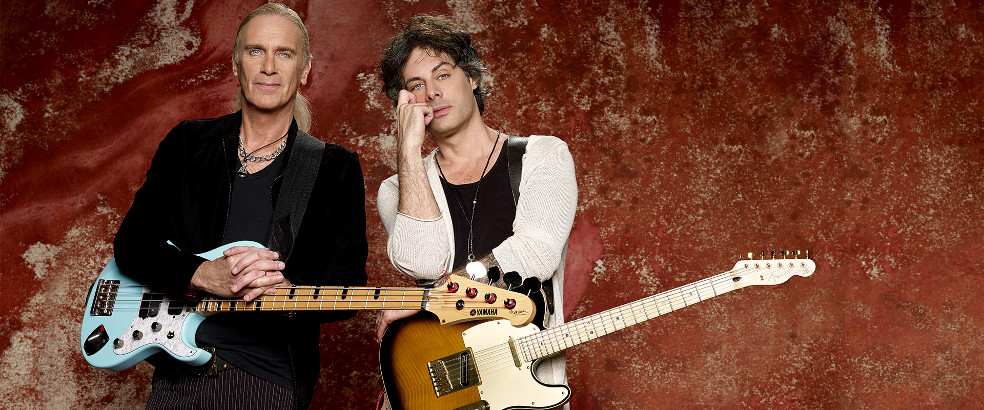 Richie Kotzen & Billy Sheehan for DiMarzio