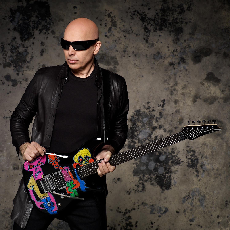 Joe Satriani photo by Larry DiMarzio