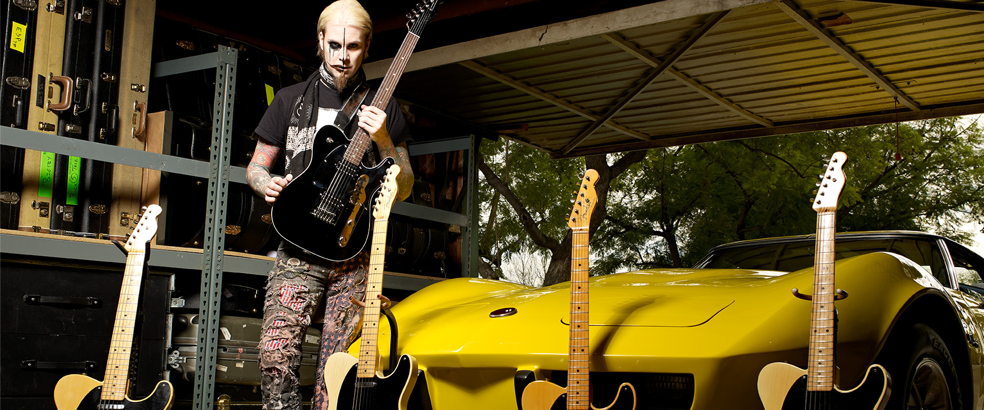John 5 for DiMarzio