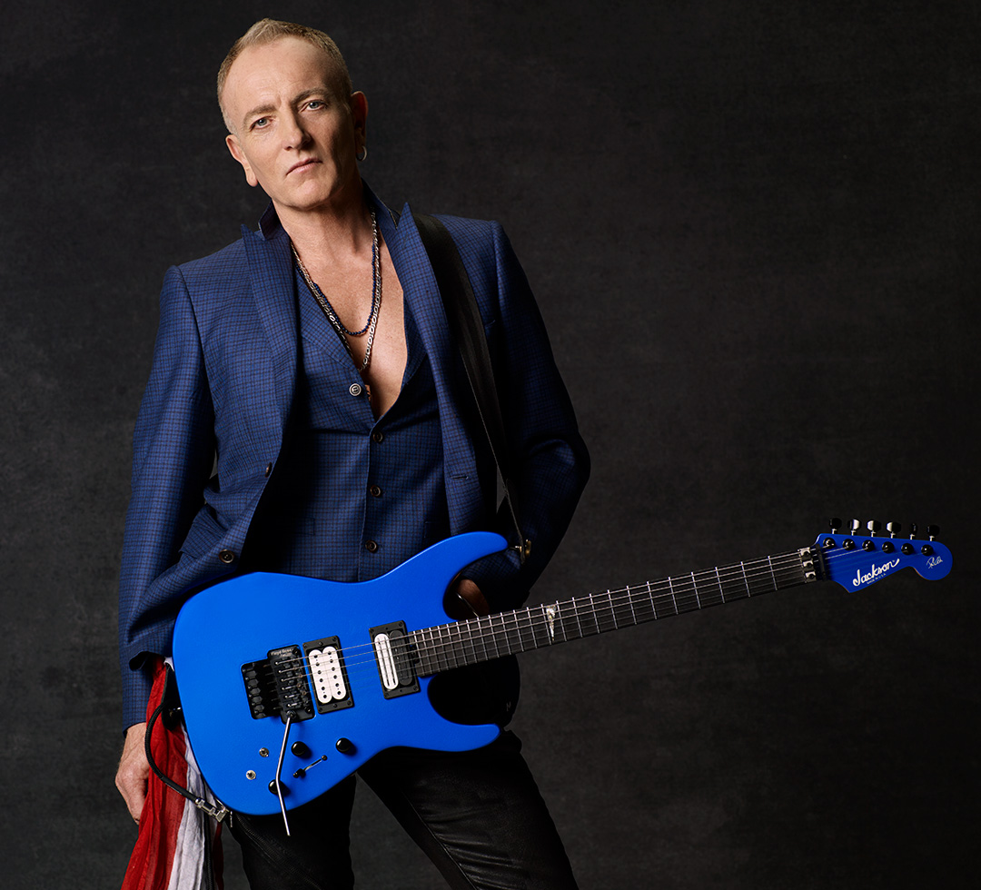 Phil Collen for DiMarzio