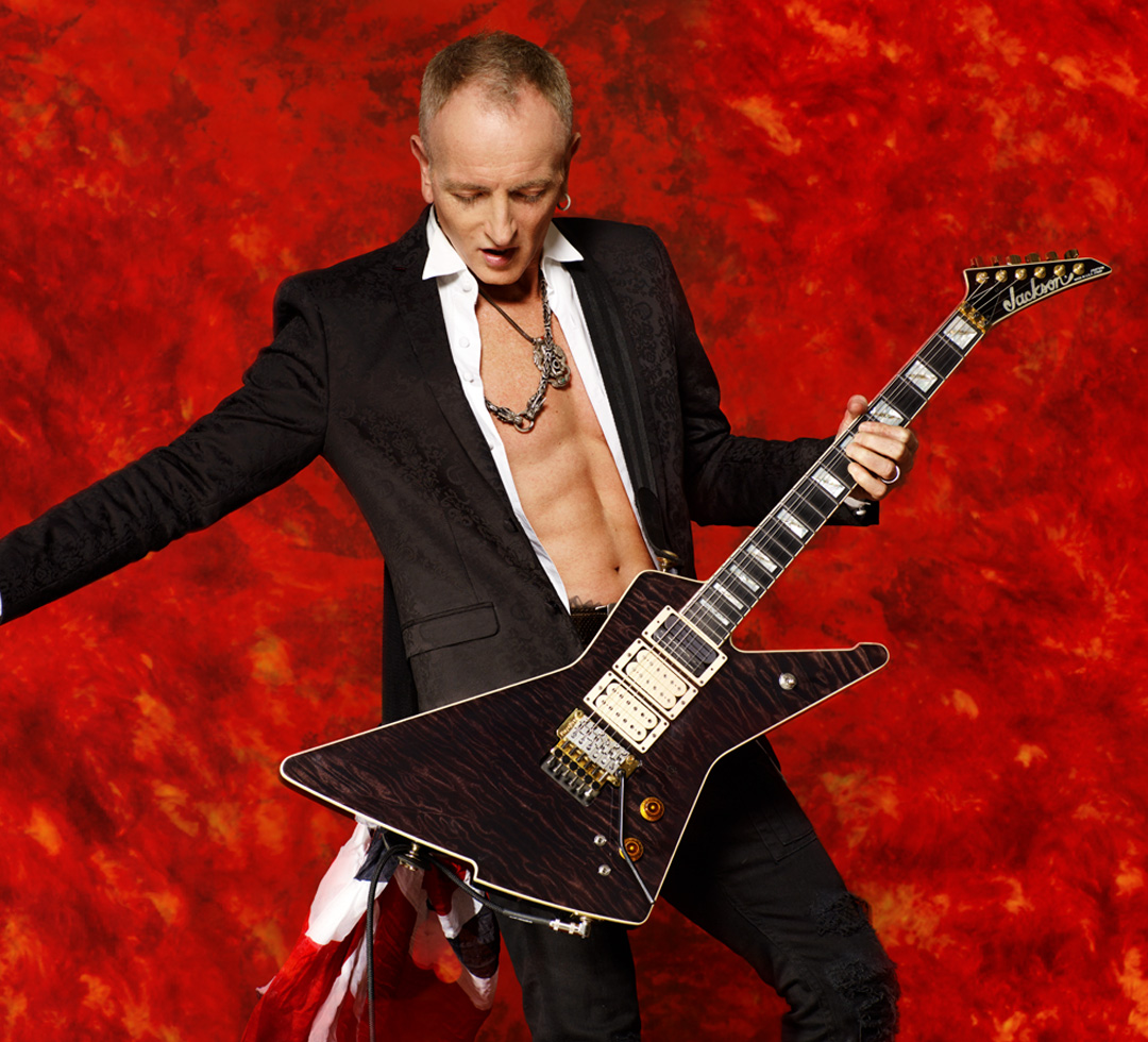 Phil Collen plays DiMarzio Super Distortion