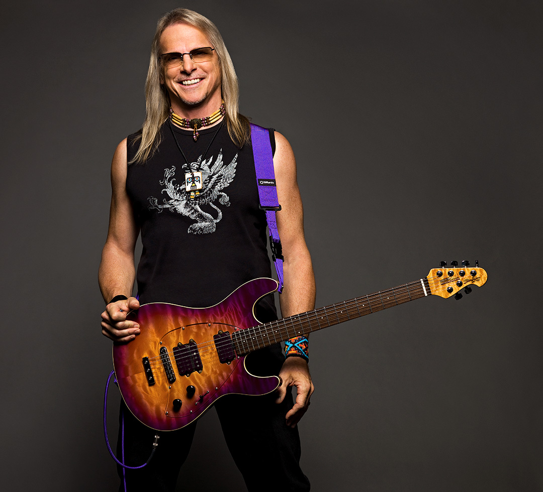 Steve Morse plays DiMarzio