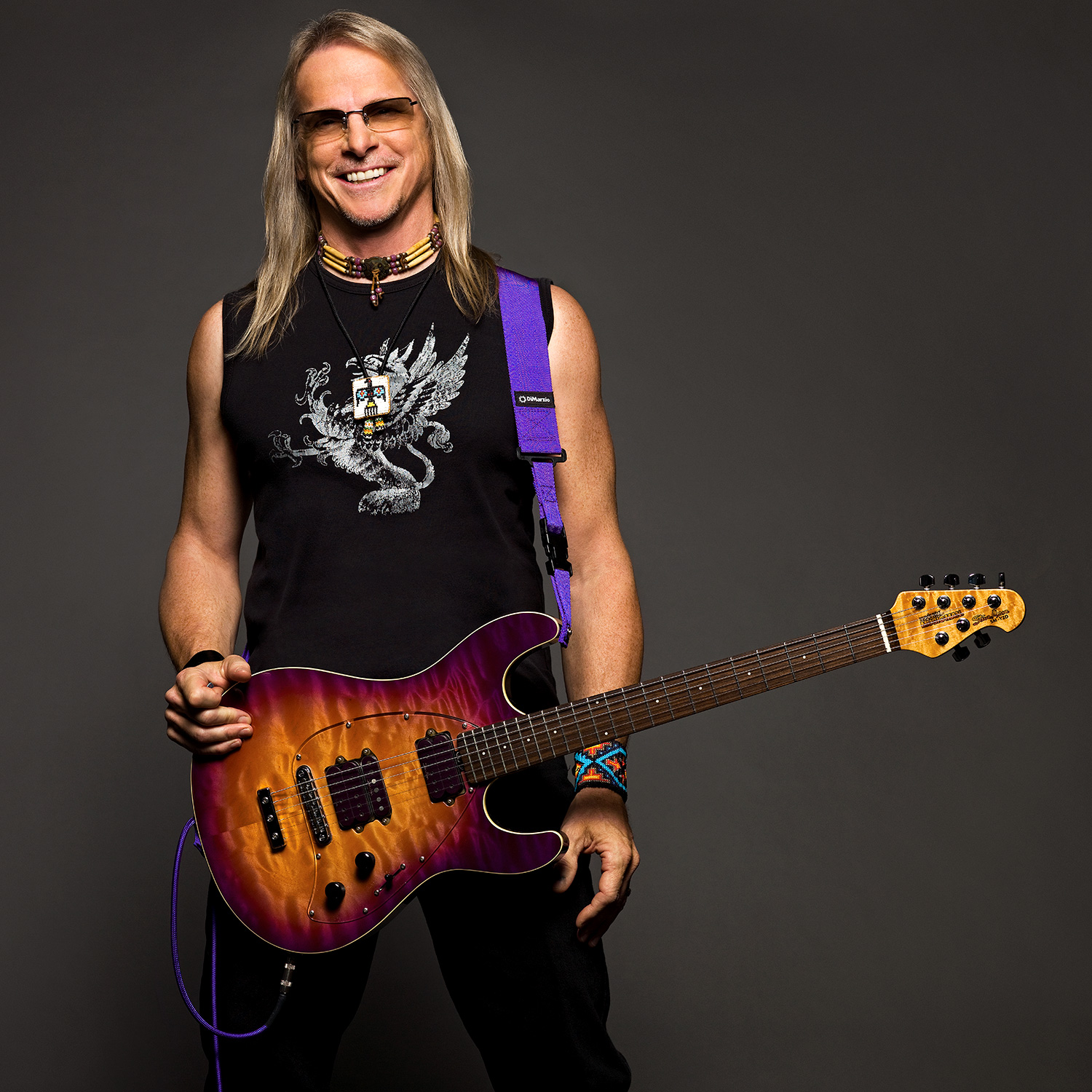 Steve Morse photo by Larry DiMarzio