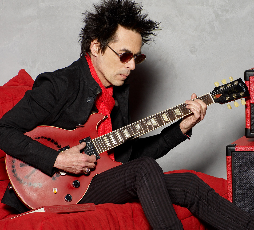 Earl Slick for DiMarzio