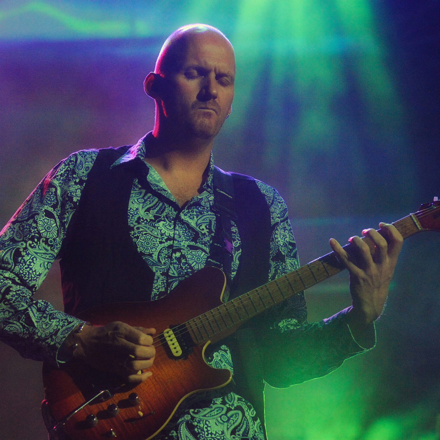 Jamie Humphries plays DiMarzio