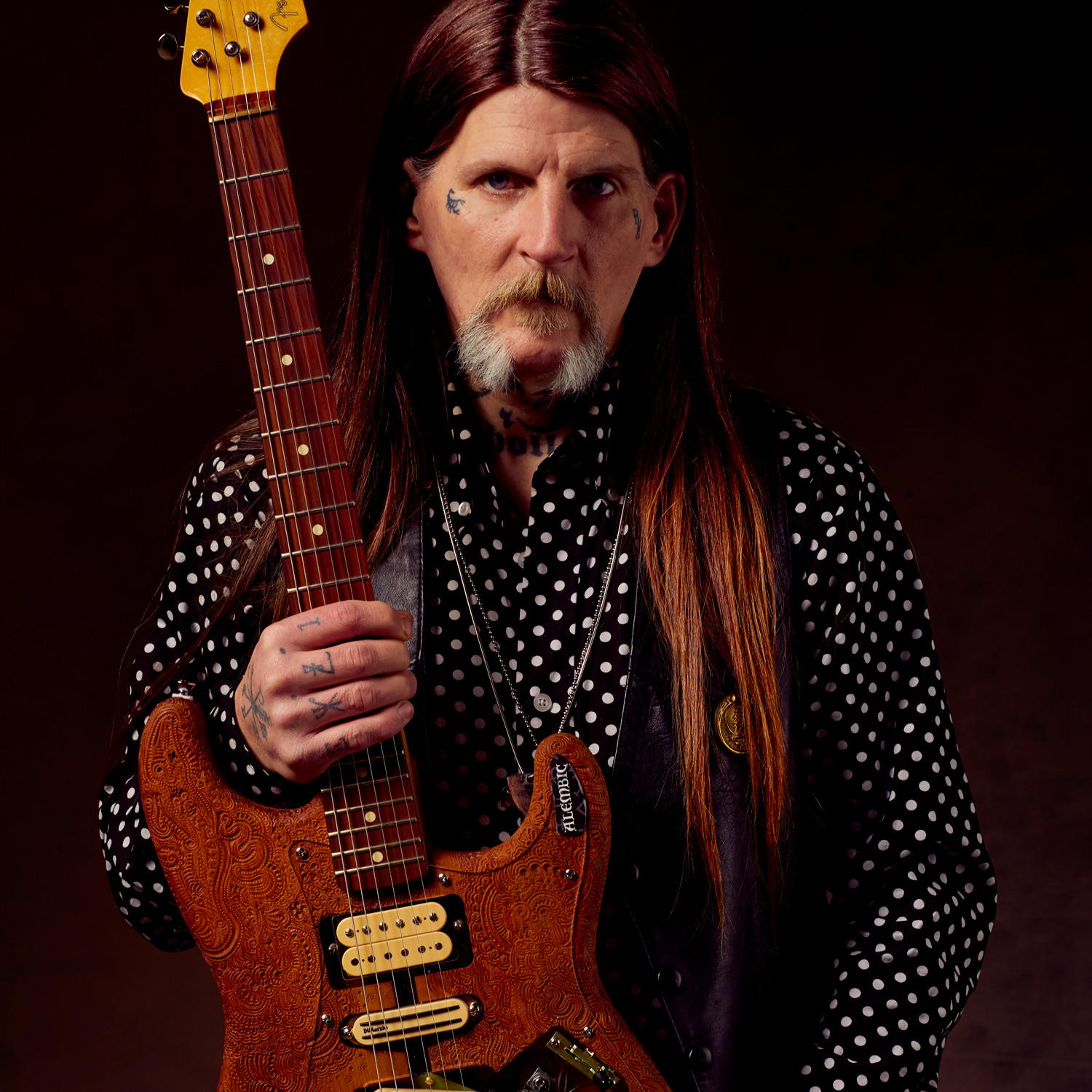 Dylan Carlson plays DiMarzio