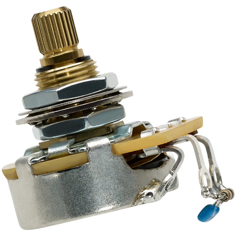 EP1201HP 500K Custom Taper Pot (High Pass Filter)