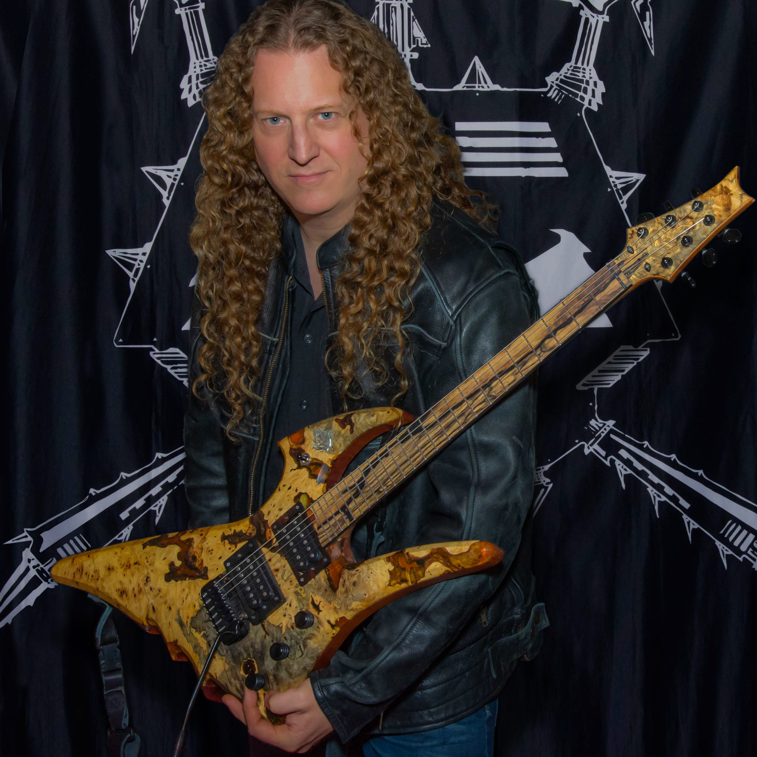 Dan Mongrain of Voivod plays DiMarzio