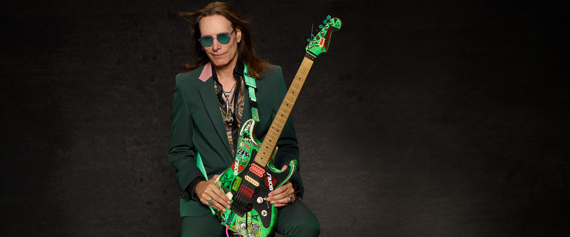 The birth of Steve Vai's Green Meanie