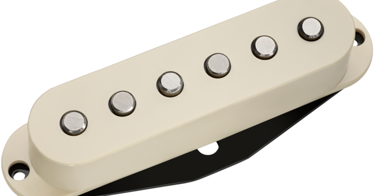 New DiMarzio DP409 Virtual Vintage Heavy Blues 2 Strat Pickup White Made in USA